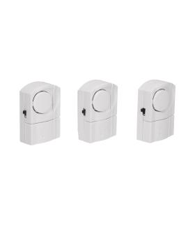 Zestaw mini alarmów okienno - drzwiowych, 3 szt., bateryjny Orno AS-3