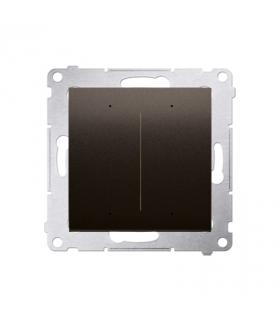 Sterownik przyciskowy oświetleniowy SWITCH D WiFi brązowy matowy metalizowany DEW2W.01/46