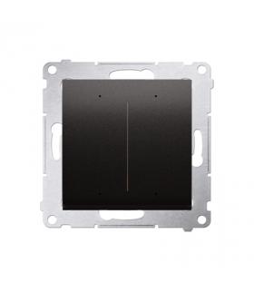 Sterownik przyciskowy oświetleniowy SWITCH D WiFi antracyt metalizowany DEW2W.01/48