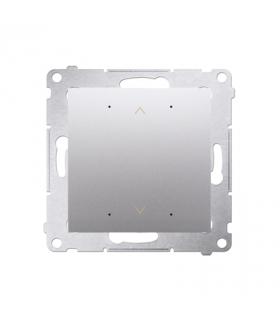Sterownik przyciskowy SHUTTER WiFi srebrny matowy metalizowany DEZ1W.01/43