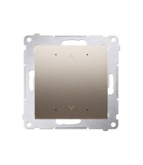 Sterownik przyciskowy SHUTTER WiFi złoty matowy metalizowany DEZ1W.01/44