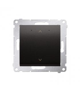 Sterownik przyciskowy SHUTTER WiFi antracyt metalizowany DEZ1W.01/48