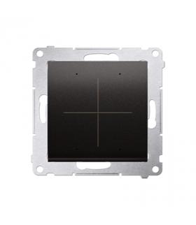 Kontroler przyciskowy CONTROL WiFi antracyt metalizowany DEK1W.01/48