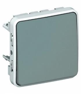 PLEXO IP55 Przycisk jednobiegunowy SZARY 10A-250V Legrand 069540