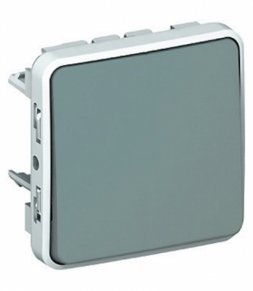 PLEXO IP55 Przycisk przełączny SZARY 10A-250V Legrand 069541
