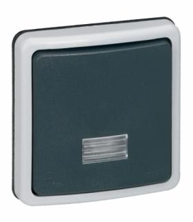 PLEXO IP66 Łącznik schodowy 10 AX - 250 V - mechanizm bez puszki Legrand 090480