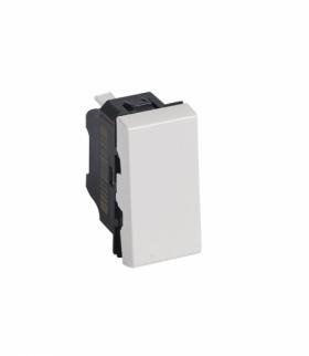 MOSAIC Łącznik jednobiegunowy 10 AX 250 V 1 modułowy Biały Legrand 077000