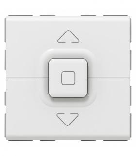 MOSAIC Przycisk do pośredniego sterowania roletami 6 A Biały Legrand 077025