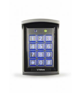ZS30 Zamek szyfrowy IP65 aluminiowy 2 strefy VIDOS