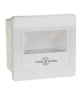DIAMOND LED 2W SILVER  Oprawa schodowa z czujnikiem ruchu 230V 2W - 150lm