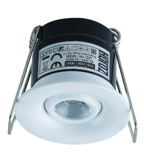 SILVIA LED 1W WHITE Sufitowa oprawa punktowa POWER LED 230V 1W -70lm