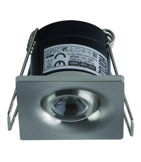LAURA LED 1W MATCHR Sufitowa oprawa punktowa POWER LED 230V 1W -70lm
