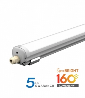 Oprawa Hermetyczna V-TAC X-SERIES 120cm 24W 160lm/W VT-1524 4000K 3840lm 5 Lat Gwarancji