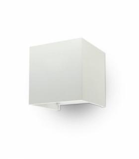 Oprawa Ścienna V-TAC 6W Kinkiet Góra/Dół Regulowany Biały Kwadrat IP65 Bridgelux VT-759 4000K 660lm