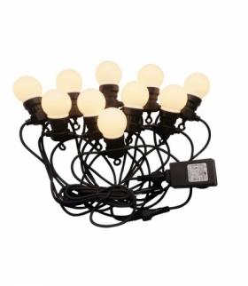 Girlanda Ogrodowa V-TAC (sznur) LED 5 metrów 10 żarówek 0,5W VT-70510 3000K 300lm