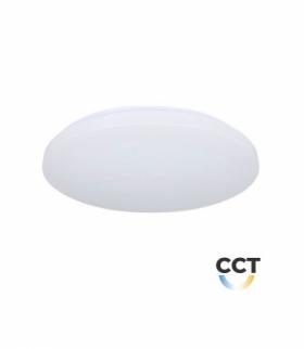Plafon V-TAC 12W Mleczny Zmiana Koloru CCT fi.255 VT-8412 2700K-6400K 720lm