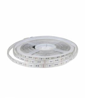 Taśma LED V-TAC SMD5050 300LED IP65 RĘKAW 10,8W/m VT-5050 RGB 1000lm