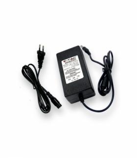 Zasilacz LED V-TAC 78W 12V 6.5A Wtyczkowy desktop z przewodami VT-23079