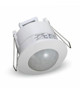 Czujnik Ruchu Sufitowy 360st Wpuszczany Okrągły Biały V-TAC VT-8029
