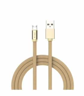 Przewód Micro USB V-TAC 1M Złoty Seria Ruby VT-5341