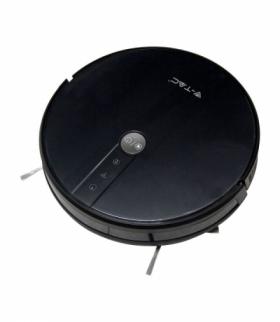 Odkurzacz Automatyczny V-TAC CZARNY, WiFi, MOP, Auto Powrót, PILOT, HEPA, Kompatybilny Amazon Alexa i Google Home VT-5555