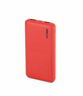 Power Bank V-TAC 10000mah Super Slim Czerwony Lithium Polymer VT-3518
