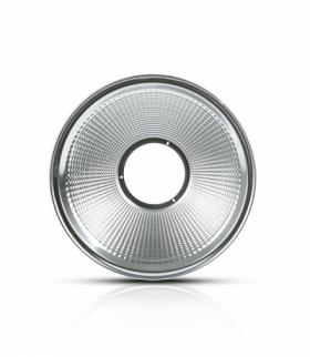 Odbłyśnik aluminiowy, Kąt 90'