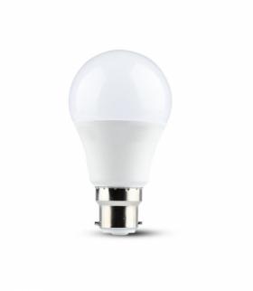 VT-259D 9W A60 Żarówka LED, Chip SAMSUNG, Barwa 3000K, Ściemniana, Trzonek B22