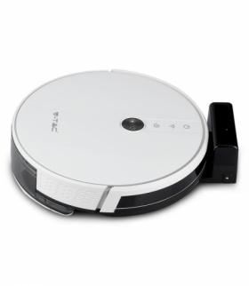 VT-5555 Odkurzacz automatyczny GYRO ROBOTIC VACUUM, Wtyczka BS, Kompatybilna z Amazon Alexa i Google Home, Biały