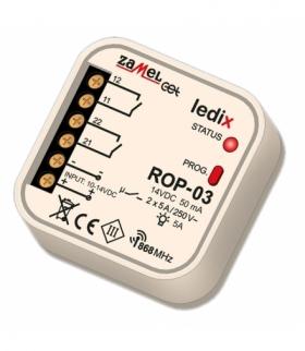 Radiowy odbiornik dopuszkowy 2-kanałowy ROP-03