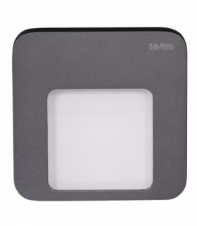 Oprawa LED MOZA PT 230V GRAFIT - biała zimna
