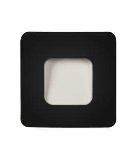 Oprawa LED TETI NT 12V DC CZARNA - biała ciepła