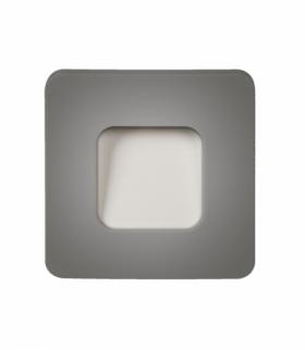 Oprawa LED TETI NT 12V DC SREBRNA - biała ciepła