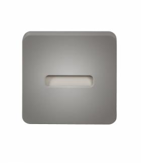 Oprawa LED LAMI NT 12V DC SREBRNA - biała ciepła