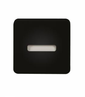 Oprawa LED LAMI PT 230V CZARNA - biała ciepła