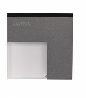 Oprawa LED TICO NT 14V DC GRAFIT- biała ciepła