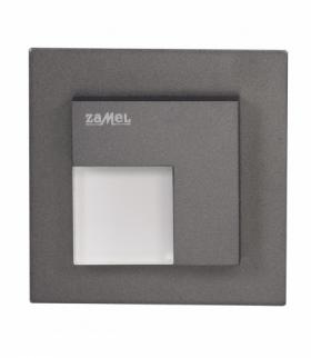 Oprawa LED TICO z ramką NT 14V DC GRAFIT - biała ciepła