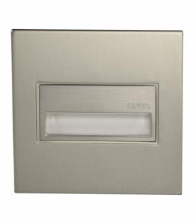 Oprawa LED SONA kwadratowa PT 14V DC STAL - biała ciepła