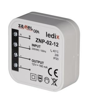 Zasilacz LED dopuszkowy 12V DC 2W