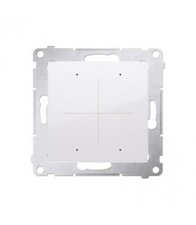 Elektroniczny łącznik / przycisk 4-krotny biały DEW4.01/11