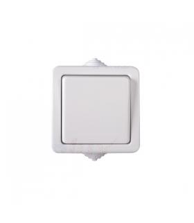 TEKNO 05-1000-102 biały Łącznik jednobiegunowy KANLUX 33494