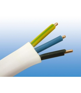 Przewód kabel płaski YDYp 3x2,5 (500V) 1mb