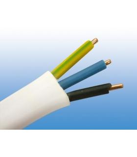 Przewód kabel płaski YDYp 3x1,5 500V 1mb