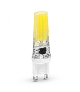 Żarówka LED G9 COB, 4W, barwa światła ciepła biała