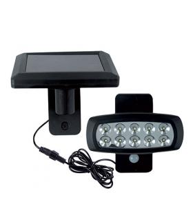 Naświetlacz SMD LED z czujnikiem ruchu 02848 WIZARD SOLARO LED 2W 6500K