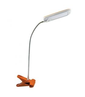 Lampka biurkowa SMD LED 02865 DORI LED ORANGE CLIP