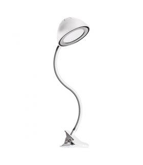 Lampka biurkowa SMD LED 02923 RONI LED WHITE CLIP