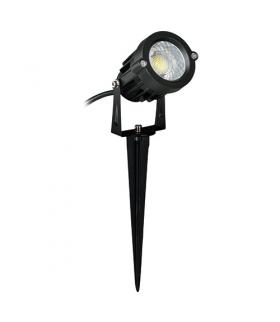Wodoszczelna oprawa COB LED 03130 PLANT LED 5W BLACK 4500K