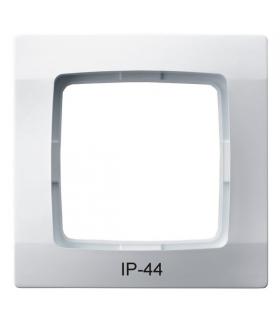 KARO RH-1S/00 Ramka pojedyncza do łączników IP-44 , BIAŁY