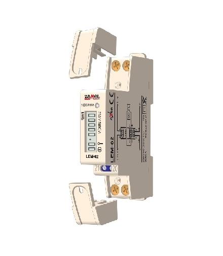 LICZNIK ENERGII ELEKTRYCZNEJ CYFROWY - JEDNOFAZOWY LEM-02
